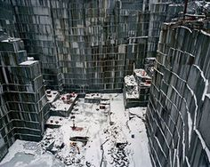 Rock of Ages #15 Active Section, E.L. Smith Quarry, Barre, Vermont, USA, 1992