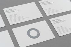 rClient Relationship Consultancy. Rebrand. #creative #branding #business #print #design #graphic #identity #logo #cards #typography