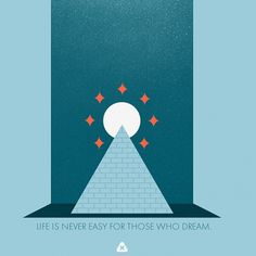 Flickr: Your Photostream #micahburger #illustration #dreamer #pyramid #life