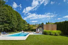 Contemporary Pool House by ICRAVE