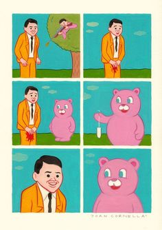 Comic Art Of Joan Cornellà #comic #funny #weird