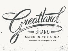 hand done type, logo, script, typography