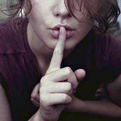keep_quiet_by_firemisha.jpg (JPEG Image, 600×600 pixels) #photo #quiet #woman #girl