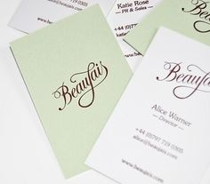 Beaujais : Lovely Stationery . Curating the very best of stationery design