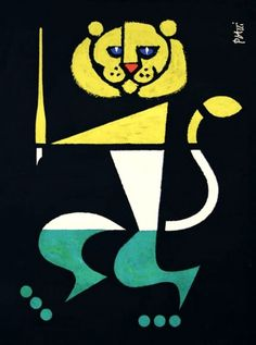 Thurgauer-Celestino-Piatti-1958.jpg (JPEG Image, 590×792 pixels) #piatti #illustration #lion