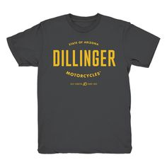 Dillinger Motorcycles® #type #typography