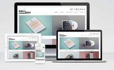 Gallery : Free Portfolio WordPress Theme