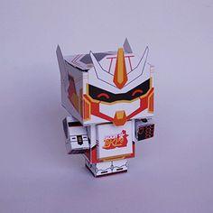 Soony Gundam #gundam #cubecraft #robot #iamfelipeserrano #mecha #gif