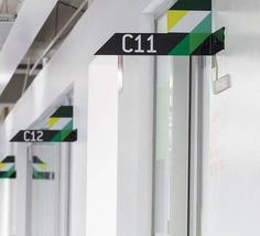 office Wayfinding | Signage | Sign | Design | 雅拉谷水务公司环境指示设计