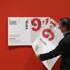 moma, design, envitomental, instllation, signage
