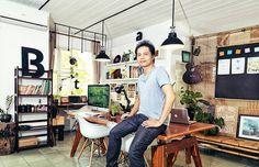 Jimmi tuan & Bratus work space #designer #office #place #space #photography #portrait #studio #tuan #jimmi #bratus #work