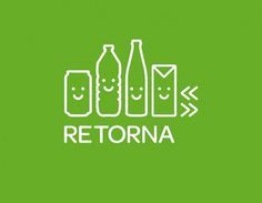 typetoken® | Showcasing & discussing the world of typography, icons and visual language #icon #retorna #typetoken #smile #logo #green