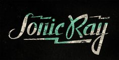 PrettyClever #ray #sonic #typography