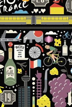 I Love Dust #mag #france #de #illustration #bicycling #usa #tour