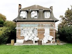 #balloon #house #photo #invasion