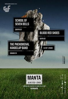 Manta 2010 on the Behance Network #print #poster