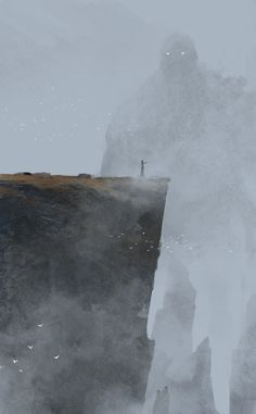 Jakub Rozalski, a concept artist based in Germany #mountain #fantasy #design #illustration #concept #art