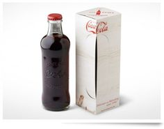 Original Coca-Cola Bottles #packaging #coke #branding