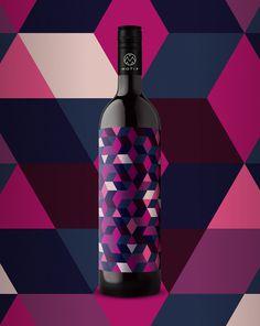10_17_13_MotifWine_7.jpg #bottle #packaging #design #color #wine #geometric