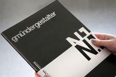 Gmünder Gestalter – Magazin der Kreativkultur in Schwäbisch Gmünd #print #design #graphic #german #gestalter #magazine