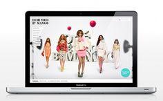 Que me pongo by Mango (spring 09) on Web Design Served #cvxcvcxv