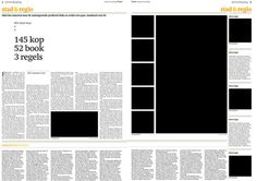 Trouw Newspaper New Themepage design Spread 3 by AngelsWillFallFirst