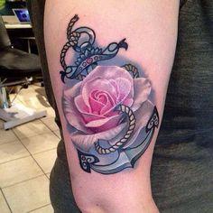 45 Anchor Tattoo Design Ideas