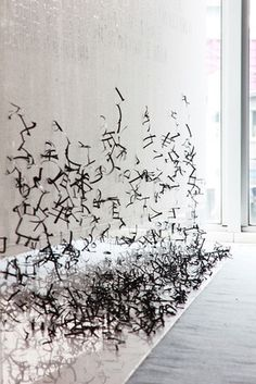 "4 | A Massive Art Work, ""Painted"" With Typography 