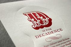 Letterpress Whisky Labels #letterpress