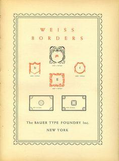 Weiss borders font specimen #type #specimen #typography