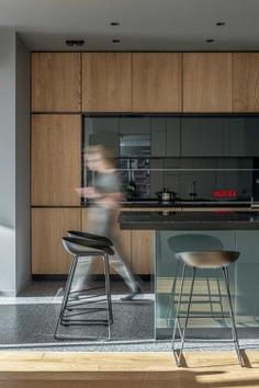kitchen design, interiors by Bogdanova Bureau