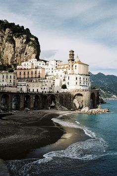 CJWHO ™ (Untitled by Leo Berne Amalfi is a town and...) #design #landscape #photography #architecture #italy