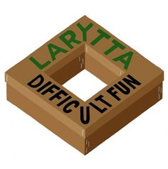 CD-Kritik: Larytta - Difficult Fun - Bild in Originalgröße, [2008/09/CRDS13_frontcover.jpg] #cover #box #illustration #art