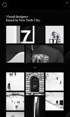 Kesley Bassini portfolio designer design graphic branding webdesign website site of the day award New York kesleybassini.com featured on min