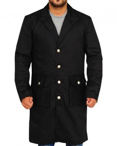 Anson Mount Hell on Wheels Stylish Black Coat