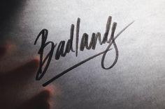 Badlands. #kallos #handlettering #lettering #typography #sketch