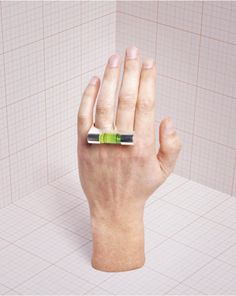 Varia — Design & photography related inspiration #modern #architecture #jewelry #ring #cool