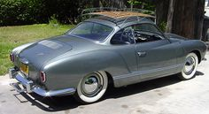 1956 Karmann Ghia lowlight coupe #ghia #vw #car #karmann