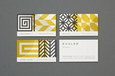 Eight Hour Day » Engler Studio Identity #card #business