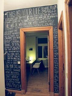 FFFFOUND!   Paint - Chalk Walls / wall #walls #paint #chalk