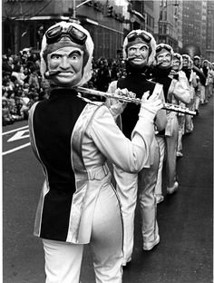 #photography #sixties #seventies #marching #flute