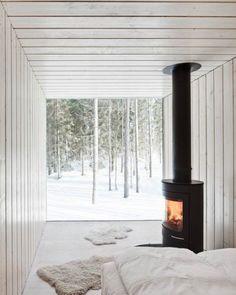 Four-Corner Villa Captures Views with a Simple Spiral Shape | Designs & Ideas on Dornob