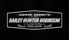 Copper Beehive Tattoo Studio YoungHeartsCo #logo
