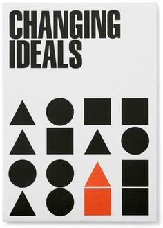 NAiM Changing Ideals - Experimental Jetset #design #typography