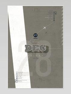Airport Project - Nicolas Cremmydas #travel #projecttraveltripplaneposter #illustration #plane #poster #airport