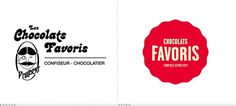 Chocolats Favoris Logo, Before and After #favoris1