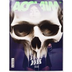 ACCLAIM #morbid #girl #acclaim #cover #glow #skull #dark #magazine