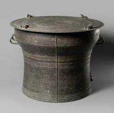 Rain drum made of Bronze