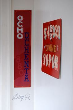 All sizes | Gregory Rubin | Flickr - Photo Sharing! #sign #type #painting #typography