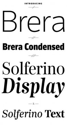 Leftloft, we are an italian design company / Projects / Brera and Solferino #type #design #newspaper